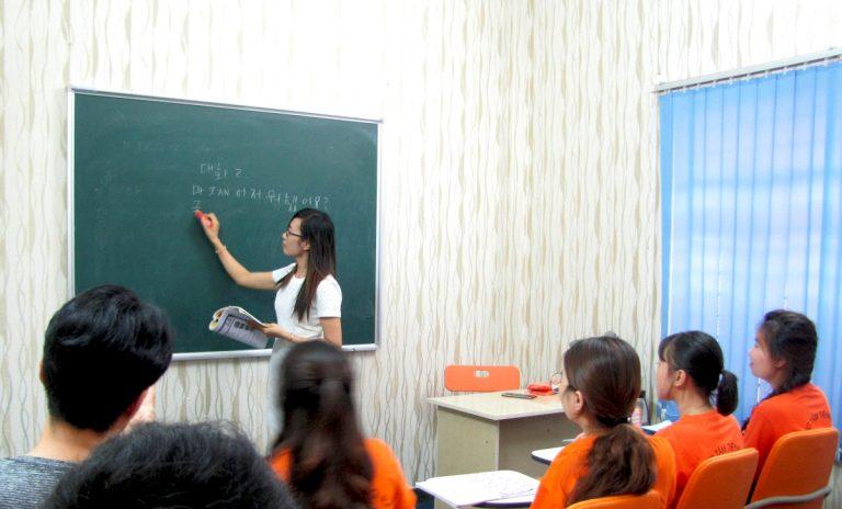 Học tiếng Hàn cấp tốc tại trung tâm tiếng Hàn Hanbee